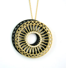 Theorem Double Wheel Pendant Set, 34mm with 34mm black shadow wheel