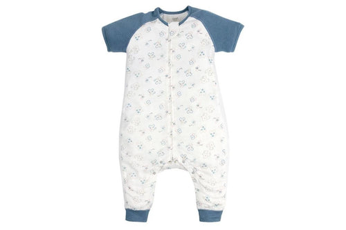 Bamboo Long Sleeve Sleep Suit 0.6 TOG - Mighty Mouse
