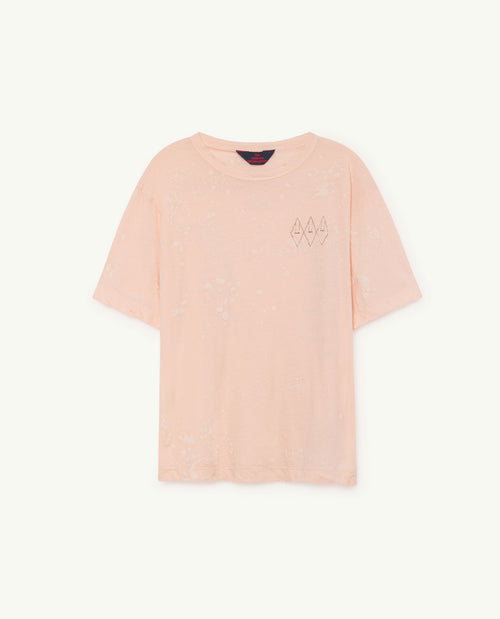 Rooster Oversize T-Shirt Nude Splashes