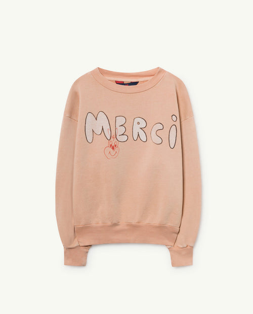 Bear Sweatshirt Toasted Almond Merci