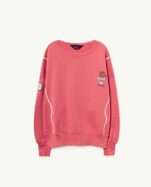 Big Bear Sweatshirt Red Shells