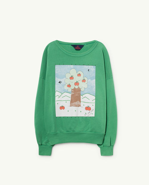 Big Bear Sweatshirt Green Landscape