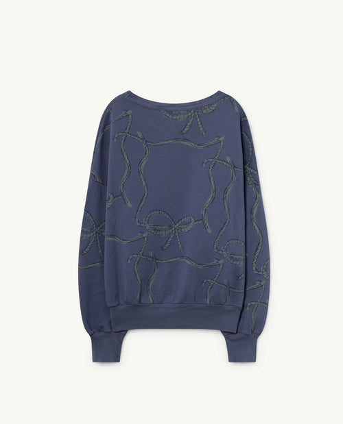 Big Bear Sweatshirt Blue Ropes