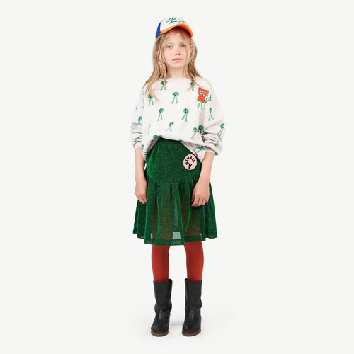Turkey Kids Skirt Electric Green
