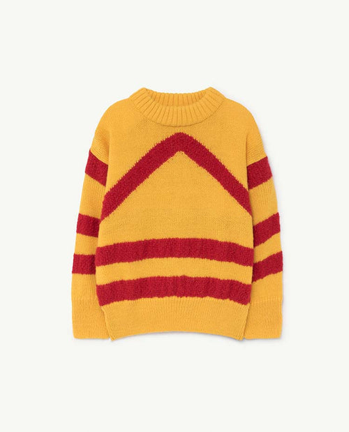 Bull Kids Sweater Yellow