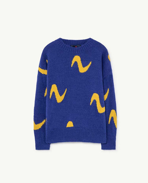 Raven Kids Sweater Blue
