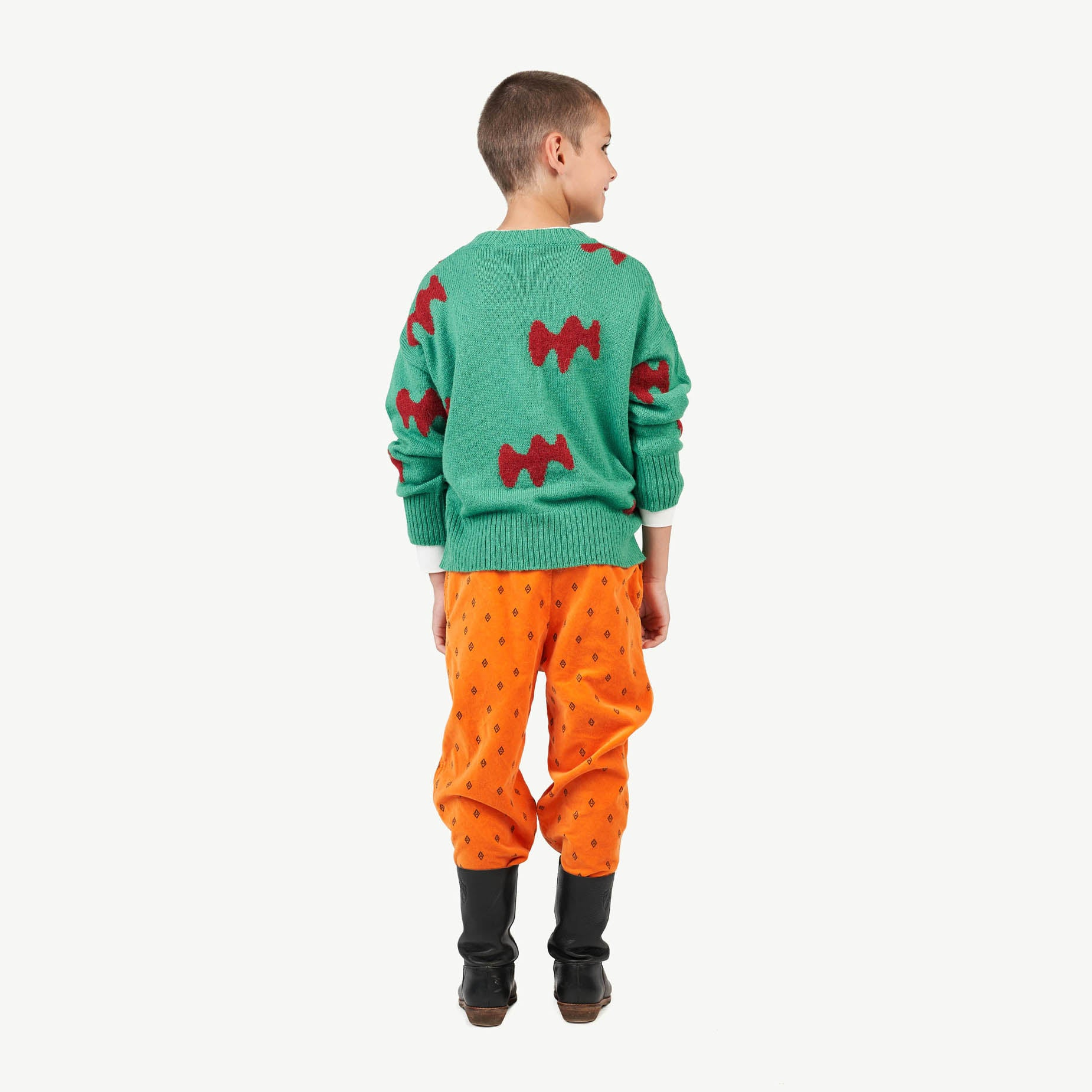 Raven Kids Sweater Green