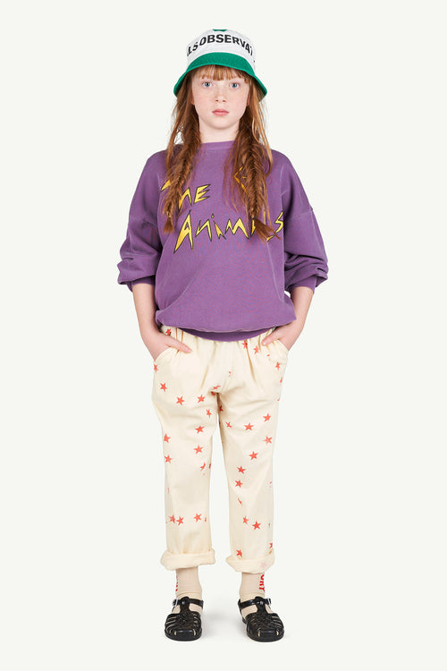 Horse Kids Pants Yellow Stars