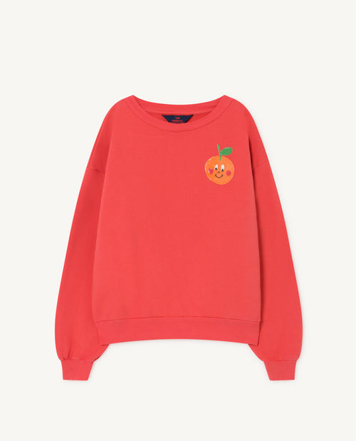 Bear Kids Sweatshirt Red Fruit