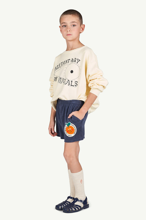 Bear Kids Sweatshirt Yellow Observatory