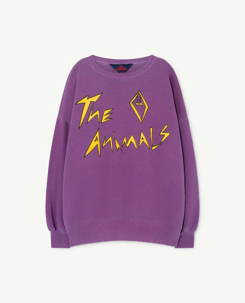 Big Bear Kids Sweatshirt Violet The Animals