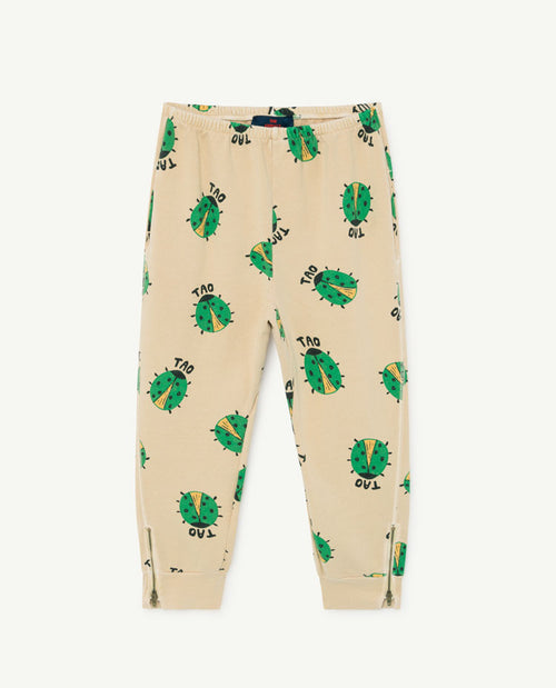 Panther Kids Pants Brown Ladybug