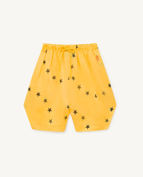 Silky Duck Kids Bermudas Yellow Stars