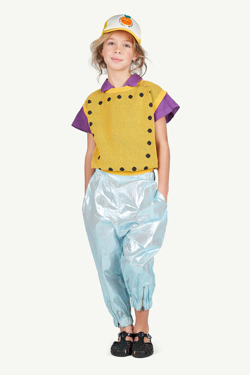 Chicken Kids Pants Green Logo