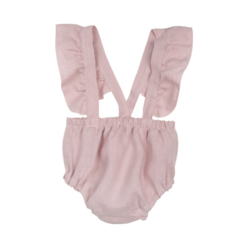 PAOLA ROMPER PANTS DUSTY PINK