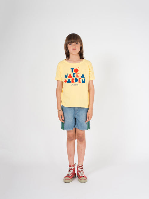 Bobo Choses Kids Geometric Short Sleeve T-Shirt