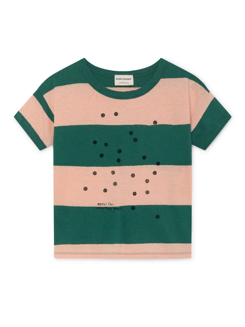 Bobo Choses Kids Bees Linen T-Shirt