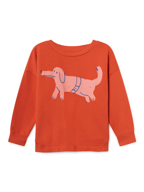 Bobo Choses Kids Paul's Dog Round Neck Sweatshirt