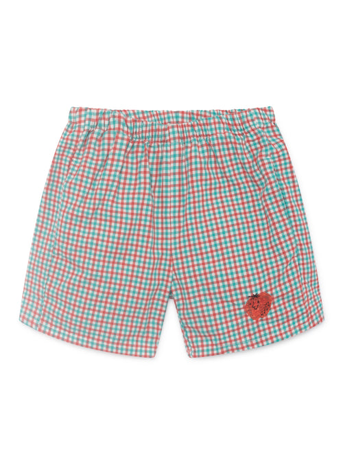Bobo Choses Kids Vichy Shorts