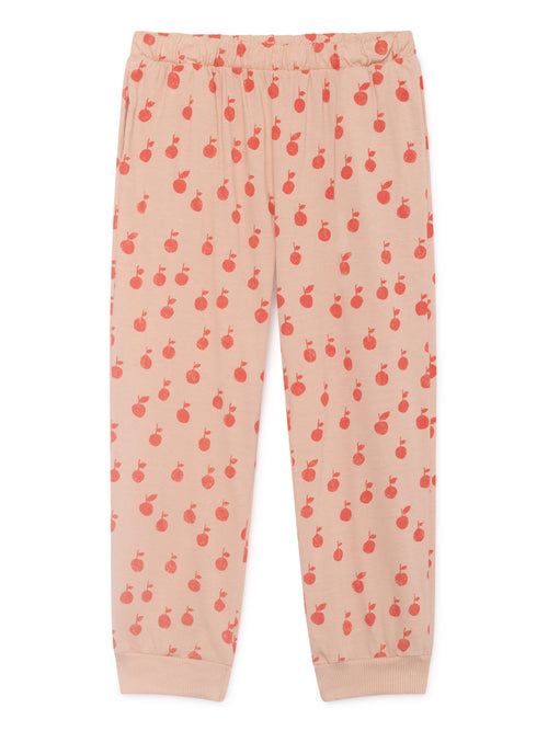Bobo Choses Girl Red Apples Tracksuit