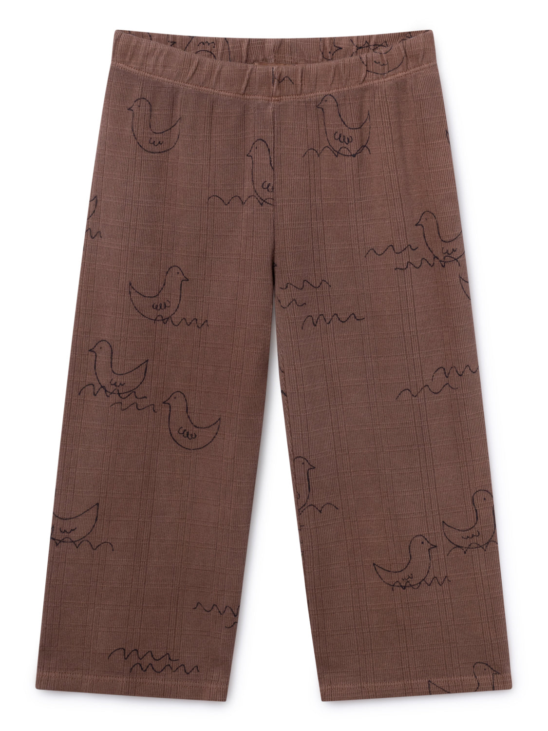 Bobo Choses Boy Brown Geese Straight Pants