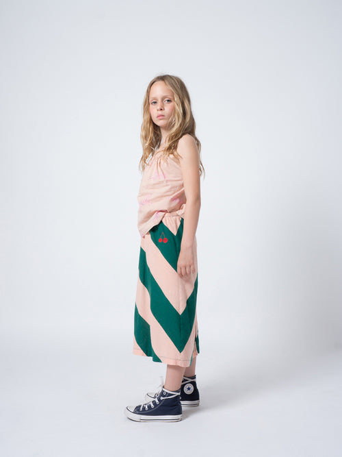 Bobo Choses Girl Strawberry Pencil Skirt