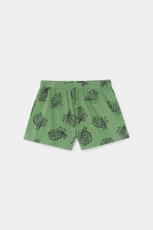 All Over Pineapple Jersey Shorts