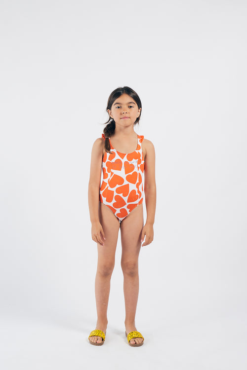 All Over  Hearts Swimsuit