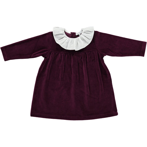 Lorena dress Maroon