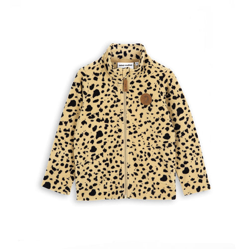 BOYS/GIRLS beige FLEECE SPOT JACKET