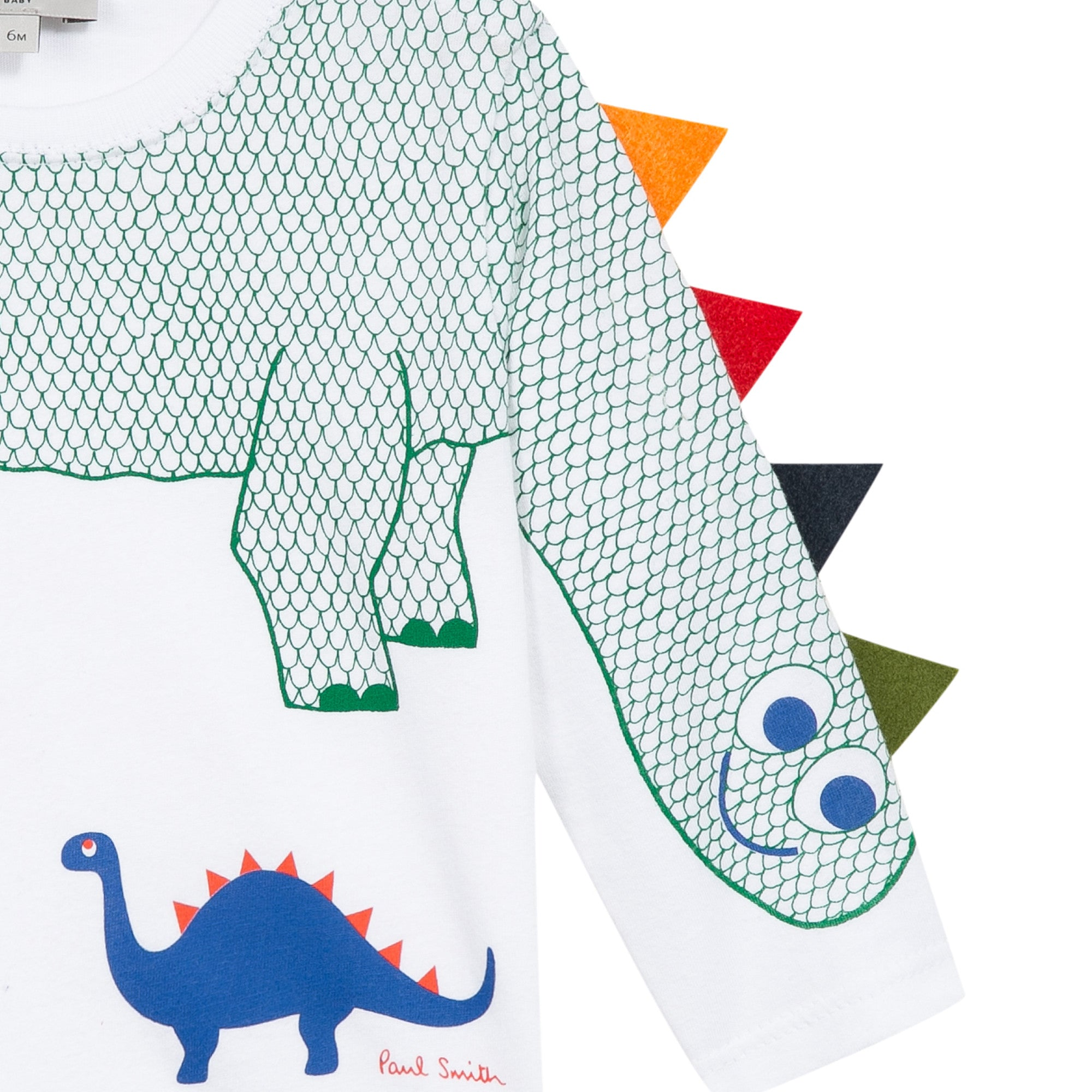 BOYS WHITE PEKIN TEE-SHIRT