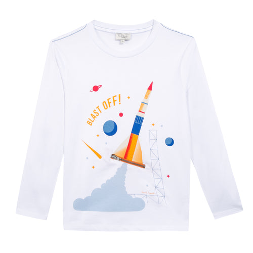 BOYS WHITE PEEPS TEE-SHIRT
