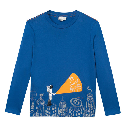 BOYS ROYAL BLUE PEPITO TEE-SHIRT