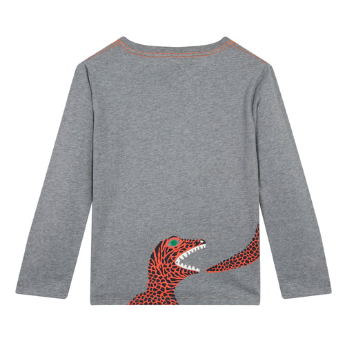 BOYS Granite PARRY 2 GREY TEE-SHIRT
