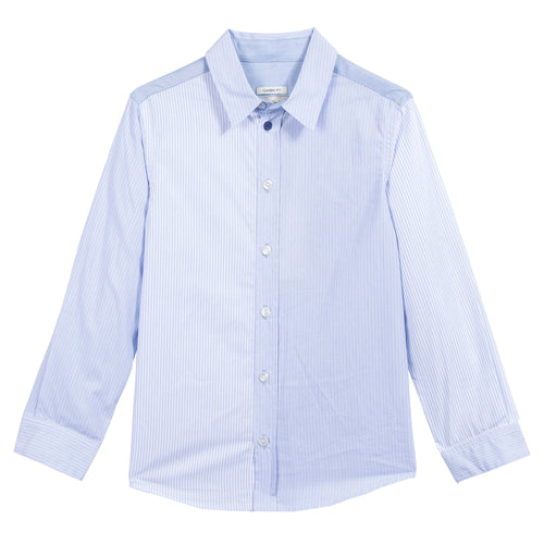 BOYS WHITE PRALL SHIRT