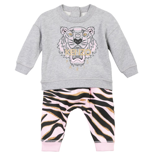 Kenzo Kids Tiger Baby Sweat Suit