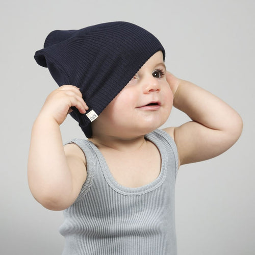 Bambi Hat Dark Blue