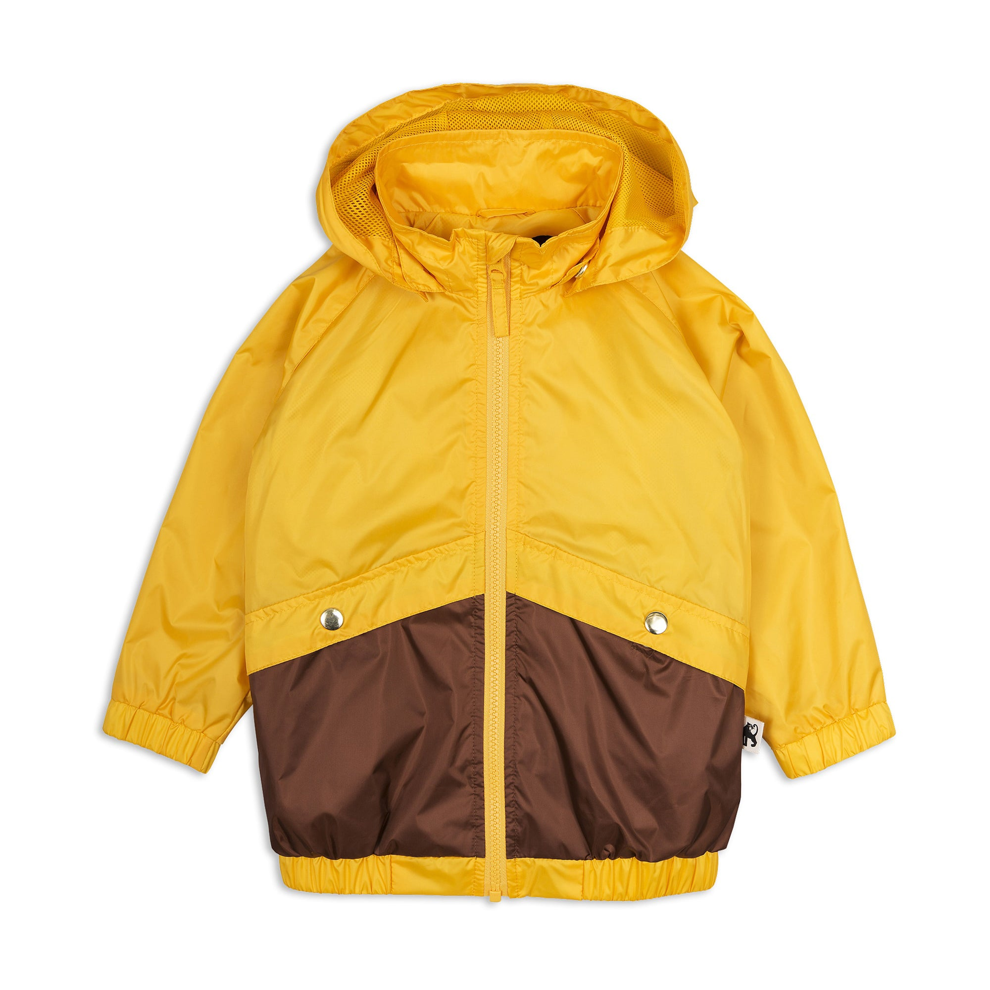 Mini Rodini Sporty Yellow Wind Jacket
