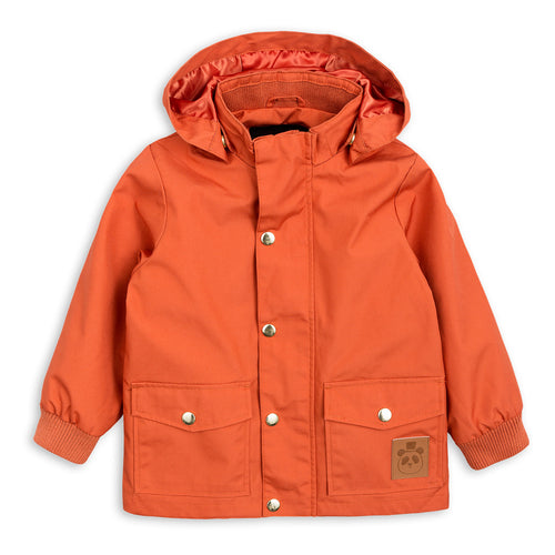 Mini Rodini Orange Rain Jacket