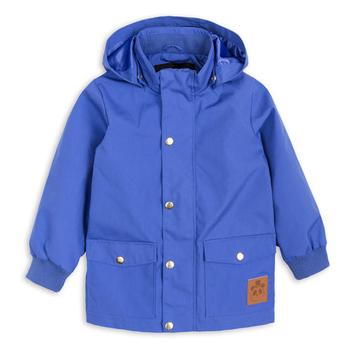 Mini Rodini Blue Rain Jacket