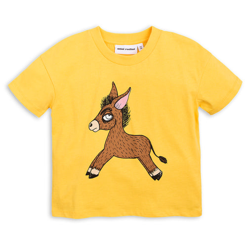 Donkey T-shirt yellow