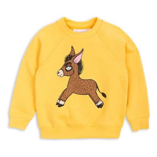 Donkey Sweatshirt yellow