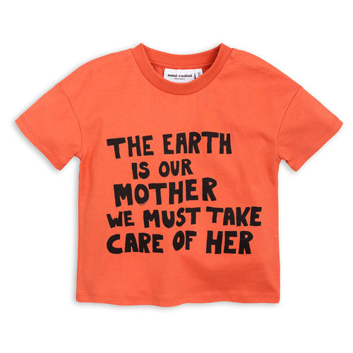 Mother Earth T-shirt orange