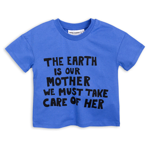 Mother Earth T-shirt blue