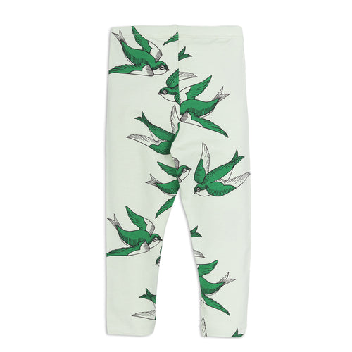 Swallows Leggings green