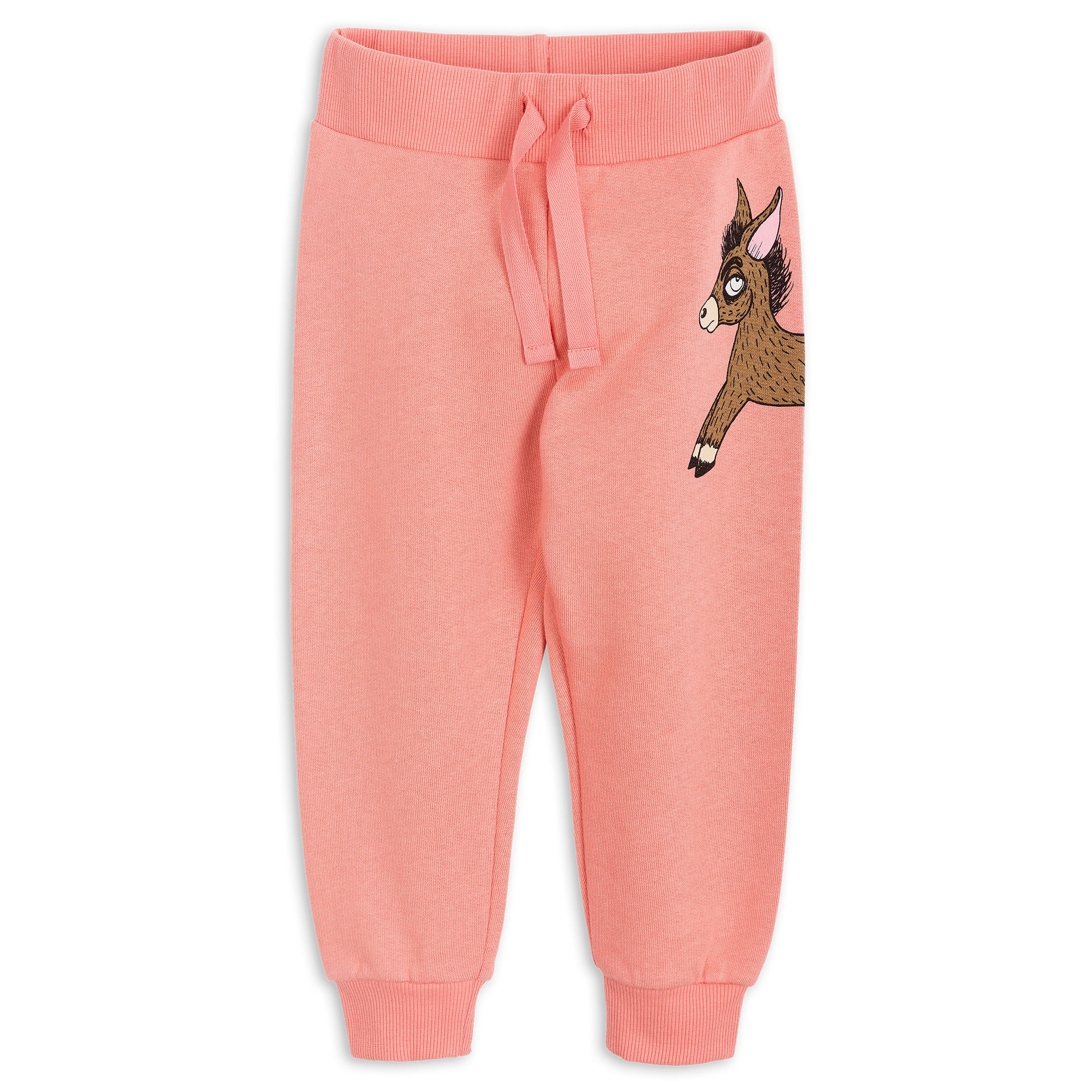 Mini Rodini Pink Donkey Sweatpants