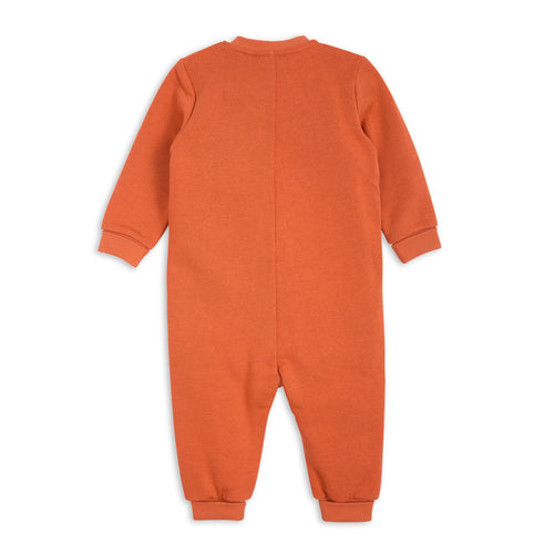 Mini Rodini Orange Donkey Onesie