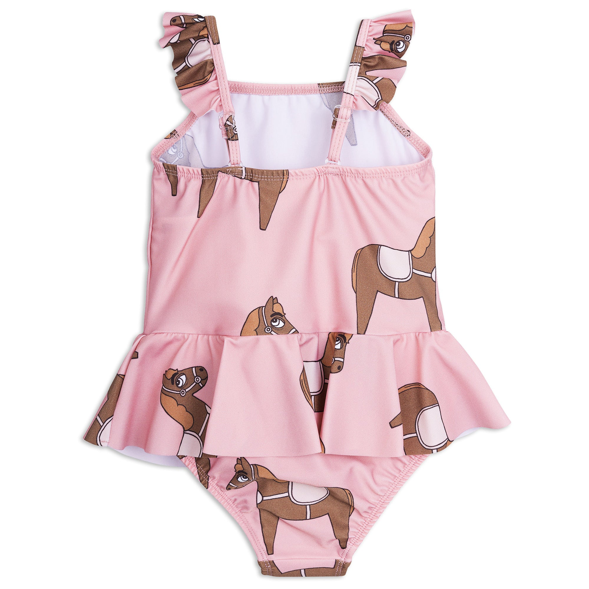 Mini Rodini Horse Print Swimsuit