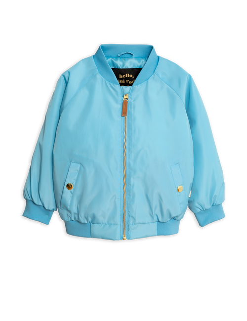Mini Rodini Banana baseball jacket Light blue