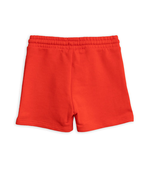 Mini Rodini Banana sp sweatshorts Red